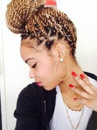 photos of braided hair with marley braid best 25 marley hair bun ideas on pinterest faux bun natural