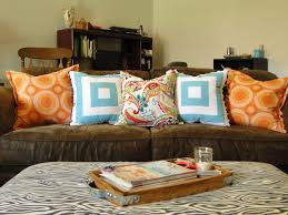 Pillows For Brown Sofa by Color Archives Frazzled Joy