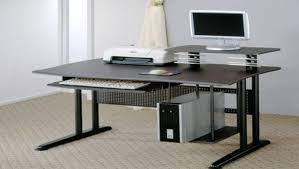 desk desks contemporary computer desk with keyboard tray and