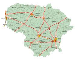 Baltic States Map Highways In Baltic Countries Skyscrapercity