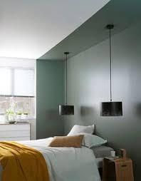 chambre alcove peindre un mur en bleu foncé pour booster sa déco chambre