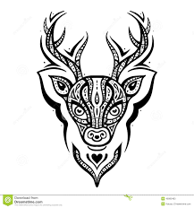 100 deer tribal tattoo art artistic creative design designs