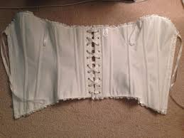 honeymoon corset white new bridal honeymoon corset medium tradesy