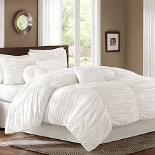 sidney twin 6 piece comforter set in white master suite