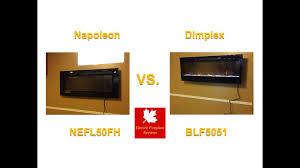 napoleon nefl50fh allure vs dimplex bfl5051 prism youtube