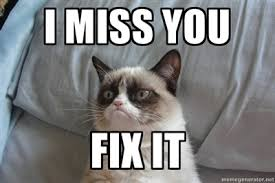 Funny I Miss You Meme - stop it six bad workplace habits to ditch right now grumpy cat