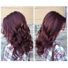rich cherry hair colour rich cherry cola bordeaux plum natural hair color redheads