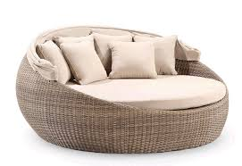 Wicker Patio Furniture Ebay - round daybed sofa couch rattan pool garden patio furniture ebay