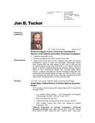 Short Resume Examples by Detective Cover Letters