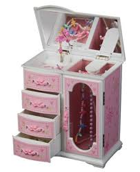jewelry box necklace holder images Upright ballerina musical jewelry box with necklace holder jpg