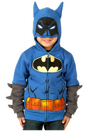 Boys Batman Halloween Costume Kids Batman Costume Hoodie
