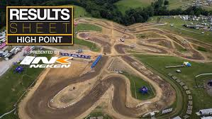 pro motocross results results sheet high point motocross feature stories vital mx