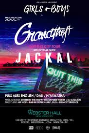 this thanksgiving weekend at webster nyc with grandtheft and