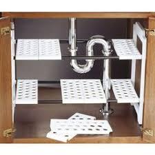 Under Bathroom Sink Storage Ideas by Best 20 Under Sink Storage Ideas On Pinterest Bathroom Sink