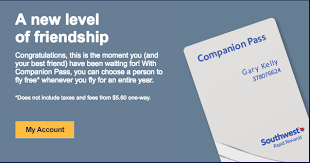 incredible southwest companion pass offer for california residents