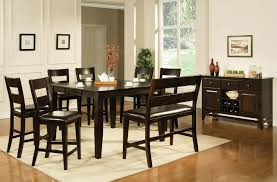 Black Dining Room Set With Bench Kitchen Table Counter Height Kitchen Table With Chairs White