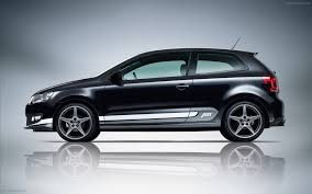 volkswagen polo black modified abt volkswagen polo widescreen exotic car wallpaper of with black