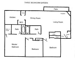 easy floor plans 3 br apartments for rent in columbus ohio 3 bedroom garden