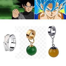 potara earrings anime z vegetto potara earring earrings ear stud