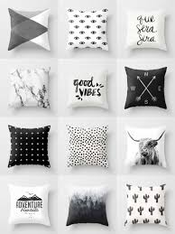 Home Goods Decorative Pillows by Society6 Black U0026 White Throw Pillows Society6 Is Home To
