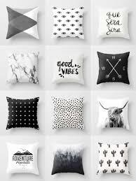 society6 black u0026 white throw pillows society6 is home to