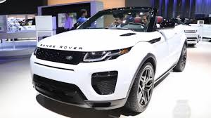 evoque land rover convertible 2017 range rover evoque convertible 2015 la auto show youtube