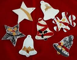 Custom Made Christmas Decorations by Christmas Ornaments Finally Hand Painted Kiln Fired Art Blog