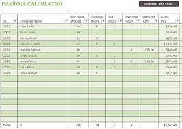 Payroll Spreadsheet Template Excel by Hr Excel Templates