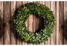 wreath preserved boxwood wreath decorative wreaths