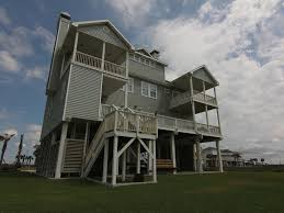 Galveston Beach House Rentals Beachfront by Oceanfront Beautiful Beach House One O Vrbo