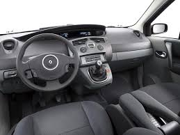 renault megane 2005 interior view of renault scenic photos video features and tuning of