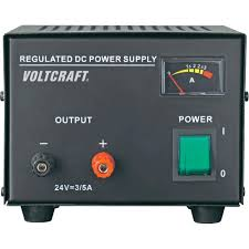 bench psu fixed voltage voltcraft fsp 1243 24 vdc max 3 a