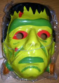 kennedy mask halloween 1960 boris karloff frankenstein monster plastic halloween mask