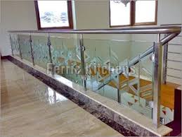Stainless Steel Banister Rail Stainless Steel Railing With Glass For Sale In Dehradun On English
