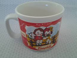 houston harvest gift products campbell kids summer 1998 soup mug houston harvest gift products