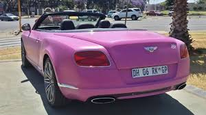 purple bentley lamborghini and bentley go pink for breast cancer awareness month