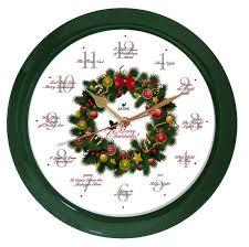amazon com elegant 14 inch 12 song of carols of christmas wreath