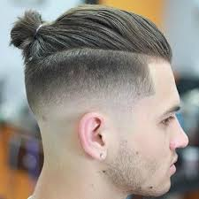 man bun short sides 5 stylish shaved sides hairstyles the idle man
