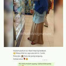 skirt labuh skirt labuh malaysia elhafidz signaturearmy instagram