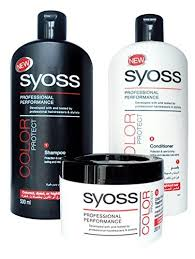 Sho Syoss syoss by schwarzkopf pro cellium keratin color protect shoo 500