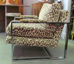 leopard chaise lounge chair animal print thesecretconsul com