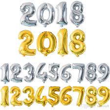number balloons delivered 3 sizes 16 32 40 10 letters figures foil gold silver number balloon