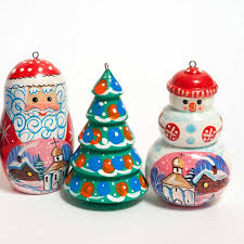 russian motives ornaments set russina