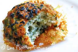 cuisiner la blette muffins aux fanes de bettes oignon vert et sésame les papilles