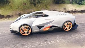 is the lamborghini egoista egoista for spin tires