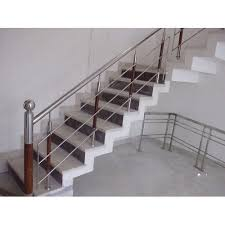 Stainless Steel Banister Balaji Metal Industries Bengaluru Manufacturer Of Steel Railing