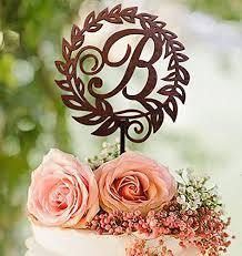 b cake topper wedding cake topper letter b cake topper gold cake
