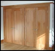 Build Closet Door Of Oak Workshop Authentic Craftsman Mission Style Doors