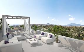 new modern luxury penthouse with large terrace in cataleya