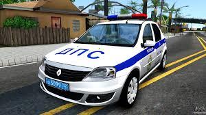 renault logan 2017 renault logan russian police for gta san andreas